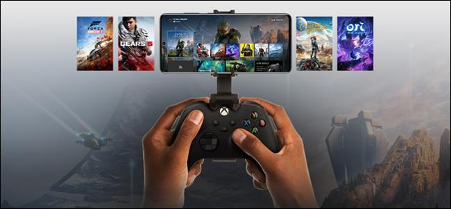 Transmissão de jogos Xbox