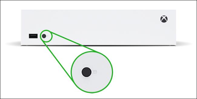 Xbox Series S Pairing Button