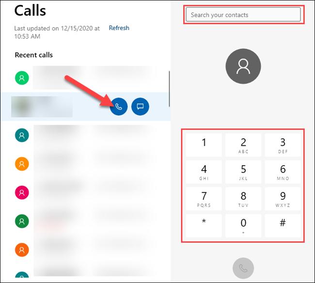 how to make calls