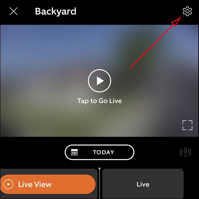Tap the Gear icon.