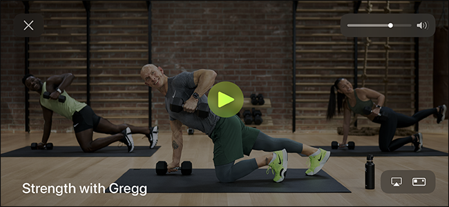 strength workout in fitness+