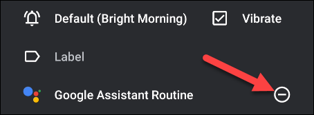 how to disable the routine