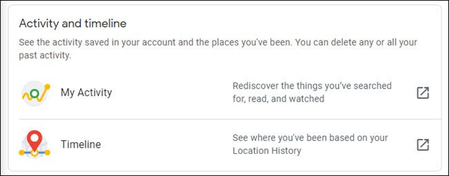 Google: How to view and delete the data it collects for you