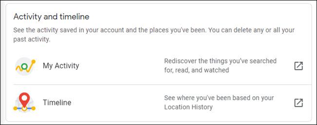 Google: Πώς να δείτε και να διαγράψετε τα data που συλλέγει για εσάς