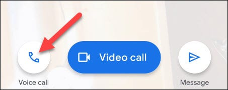 select voice call