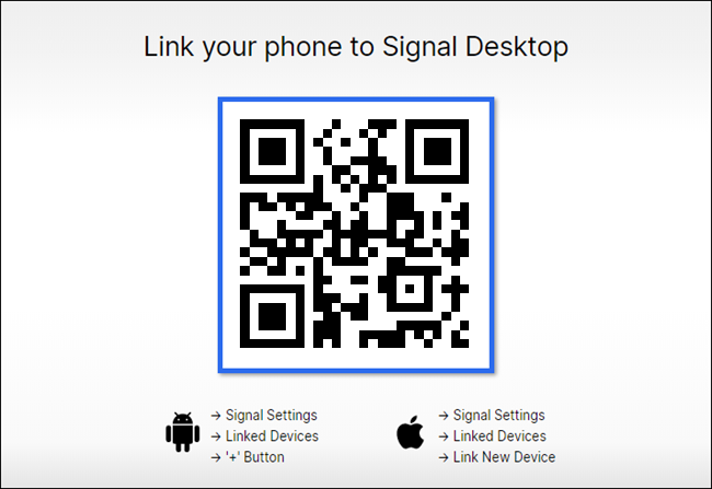 qr code from desktop app
