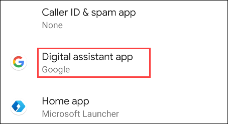 digital assistant app