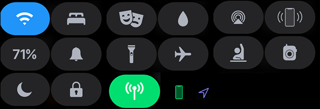 all control center icons