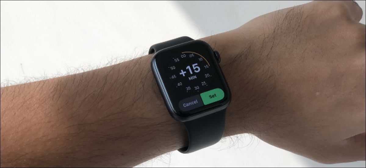 Apple Watch User Setting The Clock Ahead of Time