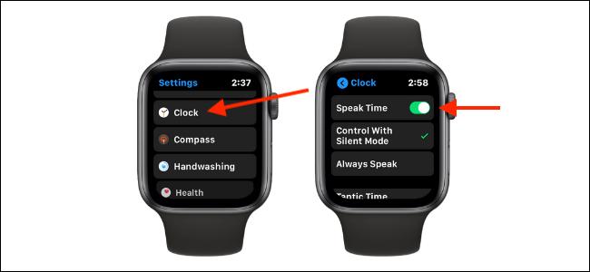 Disattiva la funzione Ora di lettura su Apple Watch