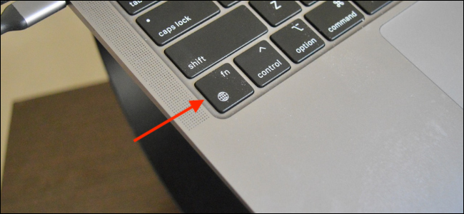 Globle and Function Key for Emojis on MacBook Air