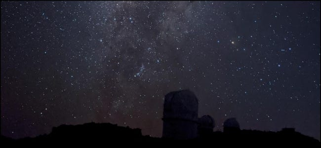 Chụp ảnh thiên văn Bầu trời đêm Google
