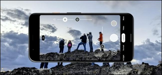 Google Pixel HDR kamera