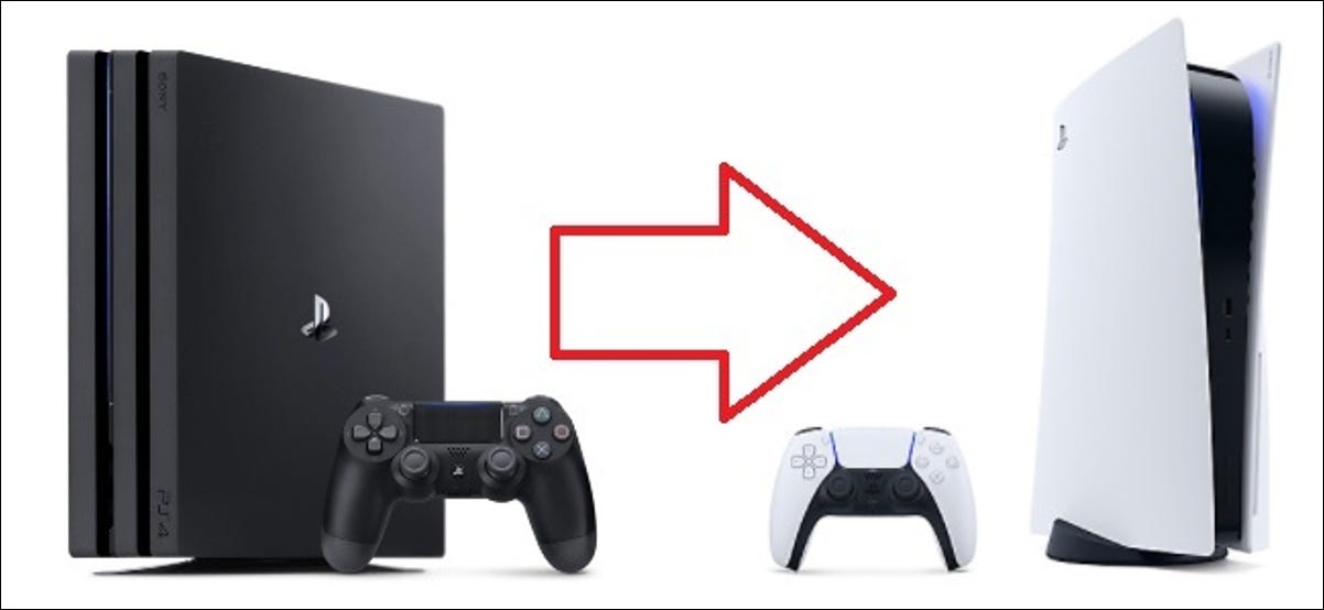 playstation 4 to playstation 5 transfer