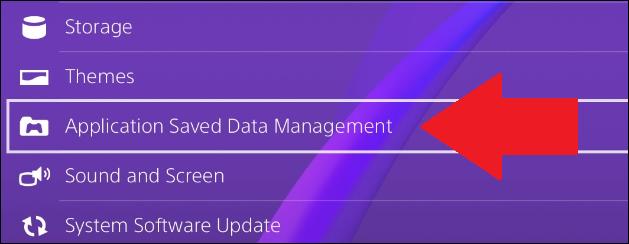 hol találja a mentett adatokat a ps4-ben