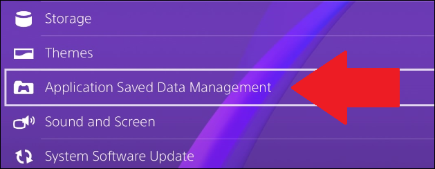 where to find saved data in ps4
