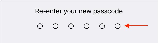 Re Enter Passcode in Telegram for iPhone