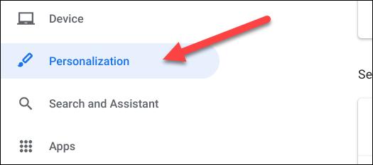 select personalization