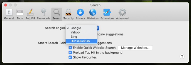 Make DuckDuckGo the default search engine in Safari