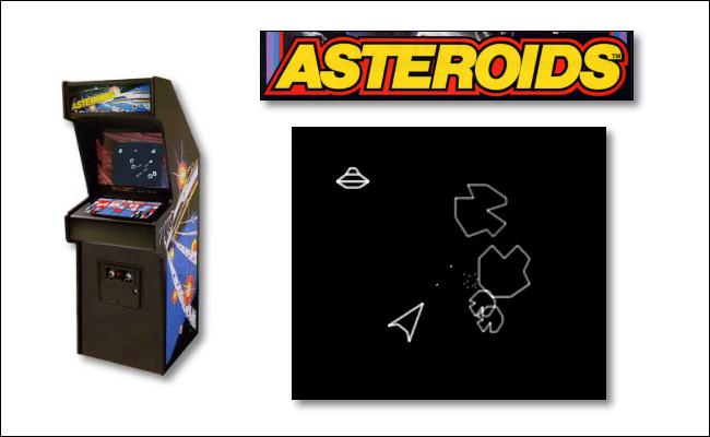 Atari's Asteroids, the 1979 arcade game