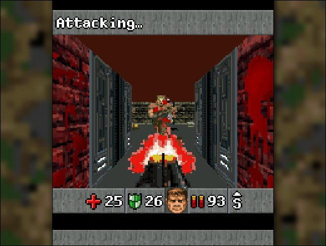 Doom RPG screenshot