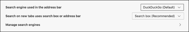 Change Default Browser in Edge