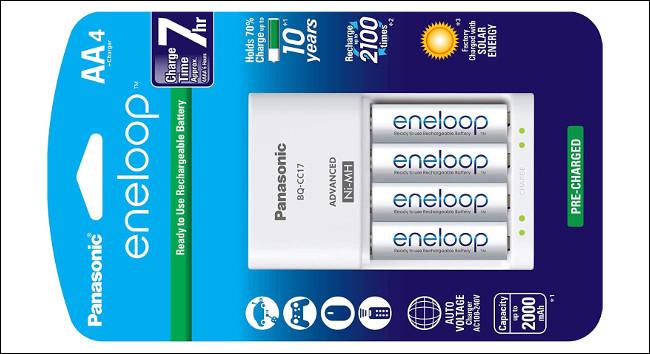 Panasonic Eneloop Rechargeable AA Battery