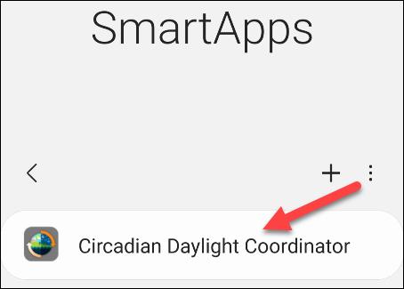 tap circadian daylight coordinator