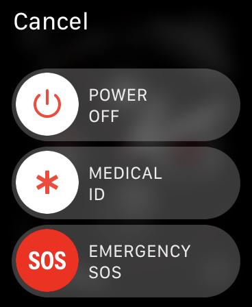 Power Off Apple Watch
