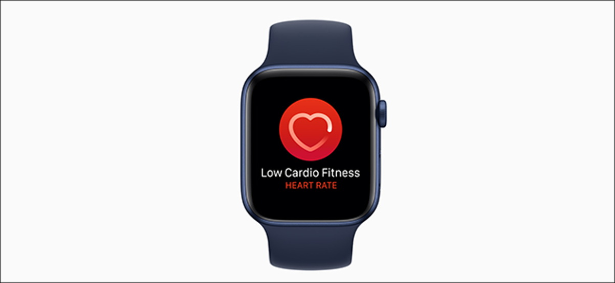 preview showing low cardio fitness