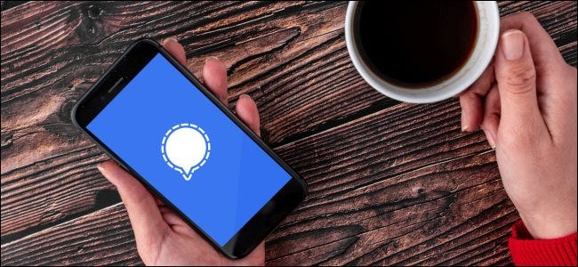 Jel logó egy okostelefonon