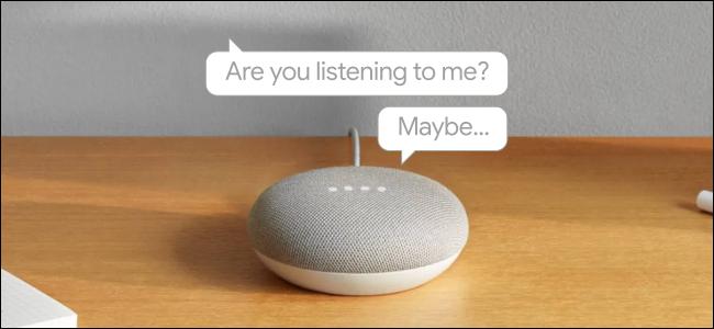 Google home mini speech bubbles