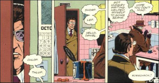 watchmen comic strip