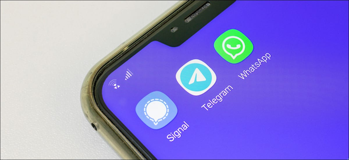 Android user downloading WhatsApp alternatives