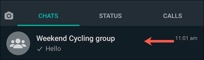 Látogasson el a WhatsApp csoportos csevegésre