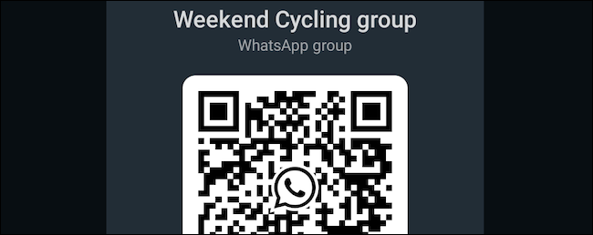 Generate WhatsApp group QR code