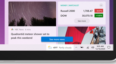 Your Windows 10 Taskbar Is About to Get News and Weather