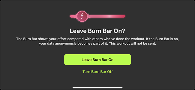 option to turn off the fire bar