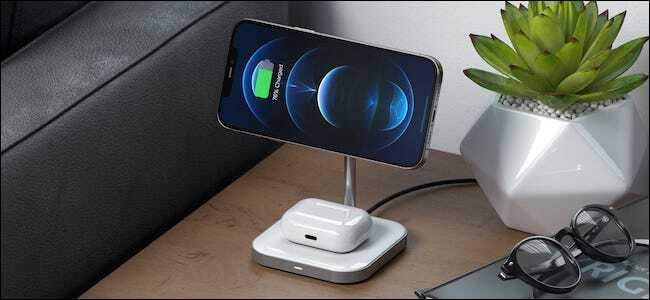 Satechi 2-in-1 wireless magsafe charger