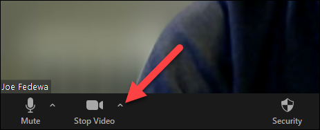expand the video options