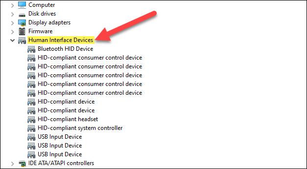 Dispositivos HID