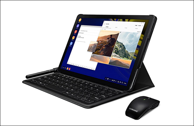 tablet in Dex Mode