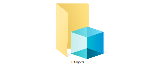 "Microsoft Is Removing Windows 10's ""3D Objects"" Folder"