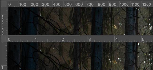 righello pixel pollici