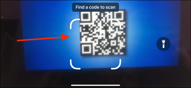 Find Code to Scan Using Code Scanner