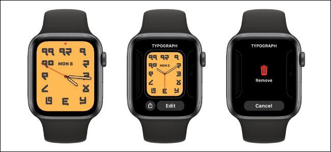 How to Delete a Watch Face on Apple Watch