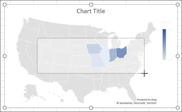 Ridimensiona un grafico in Excel