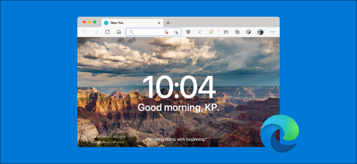 Microsoft Edge User Replacing Start and New Tab Page With Something Better