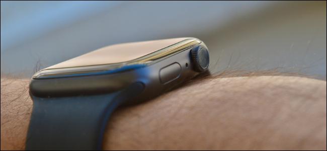 Pulsante laterale su Apple Watch