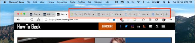 Sleeping Tabs in Microsoft Edge